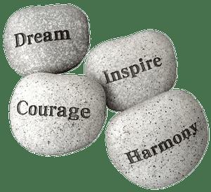 sapnis - iedvesma - drosme - harmonija